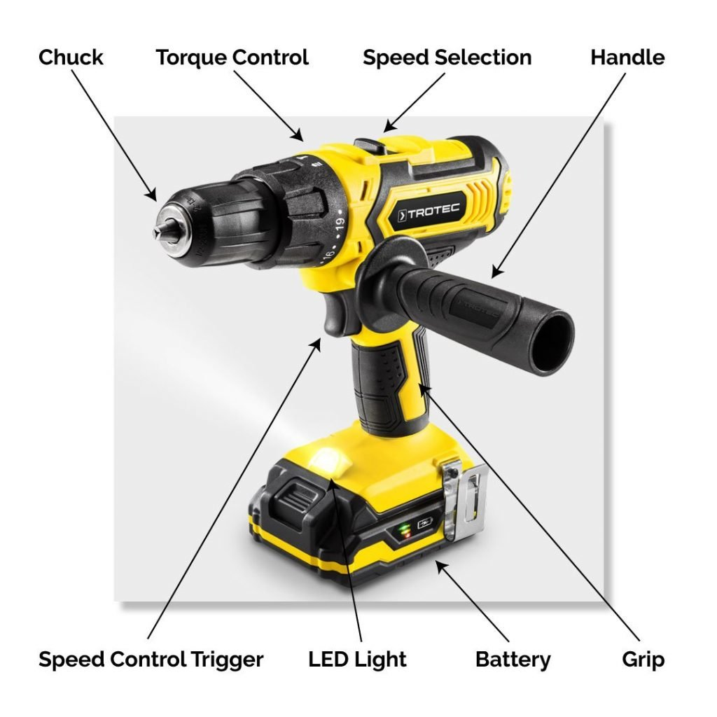 How to select a cordless drill: Drill Part