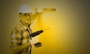 Screw or Drill into concrete without a hammer drill