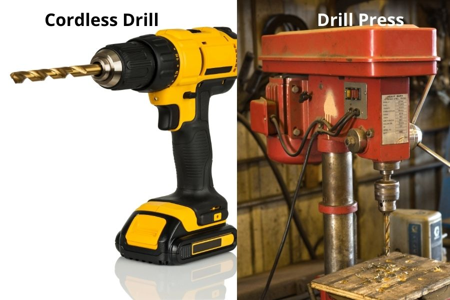 drill into wood